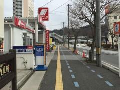 米原駅が見える距離